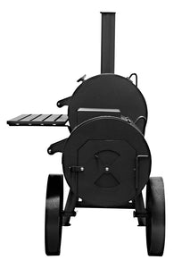 "Bbq Pit Boys Offset Smoker 18"" Wood & Charcoal Burning #1801 Denali"