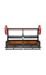 "Bbq Pit Boys Santa Maria 60"" w/Fire Brick, Grill Head & Firebox, Double Door, Single Grate 3601-60DSI"