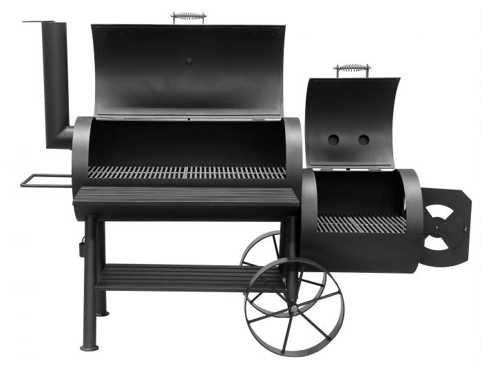 Bbq Pit Boys Offset Smoker Wood & Charcoal Burning 2001 Yosemite - 1093 Sq