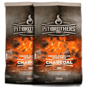 CHARCOAL GIDGEE PIT BROTHERS 2X8KG BAGS
