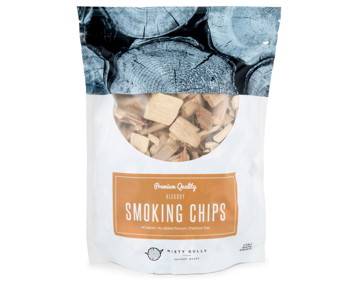 WOOD CHIPS HICKORY 3L MISTY GULLY