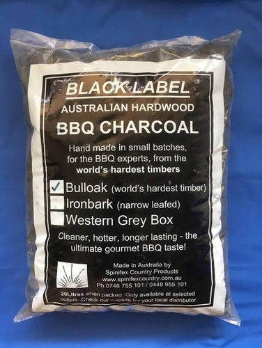 Black Label BBQ Charcoal Bulloak 6kg