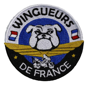 Petit Patch Wingueurs de France - Goldwing