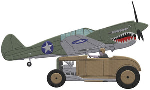 Curtiss P40 et Ford
