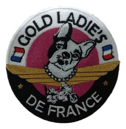 Petit Patch Wingueurs de France - Gold Lady