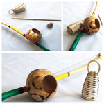 Kids Berimbau - Complete with Caxixi, Pedra and Baqueta - ZumZum Capoeira Shop