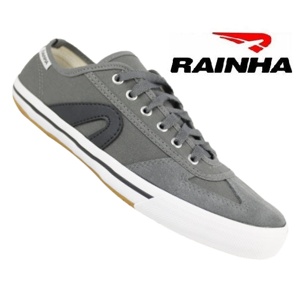 Rainha Capoeira Shoes - Grey-Black - Adult Unisex - ZumZum Capoeira Shop