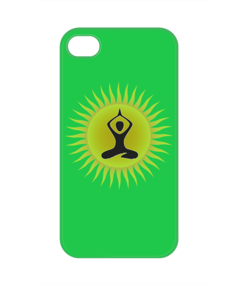 Yoga Sun Phone Case