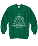 Chant Meditate Repeat Hoodie/Shirt