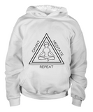 Chant Meditate Repeat White Hoodie/Shirt