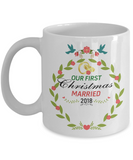 1st Christmas Together White Mug