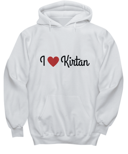 I Love Kirtan Light Hoodie/Shirt