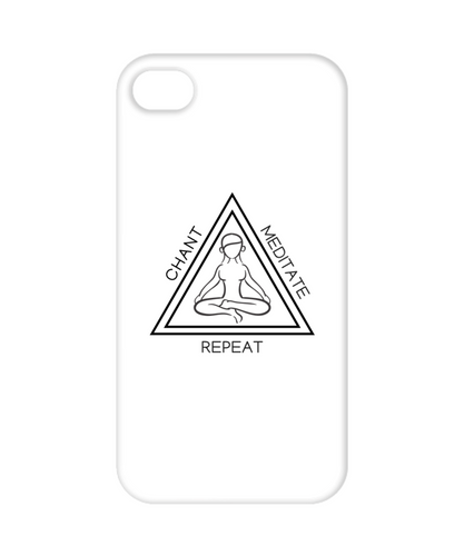 Chant Meditate Repeat Phone Case