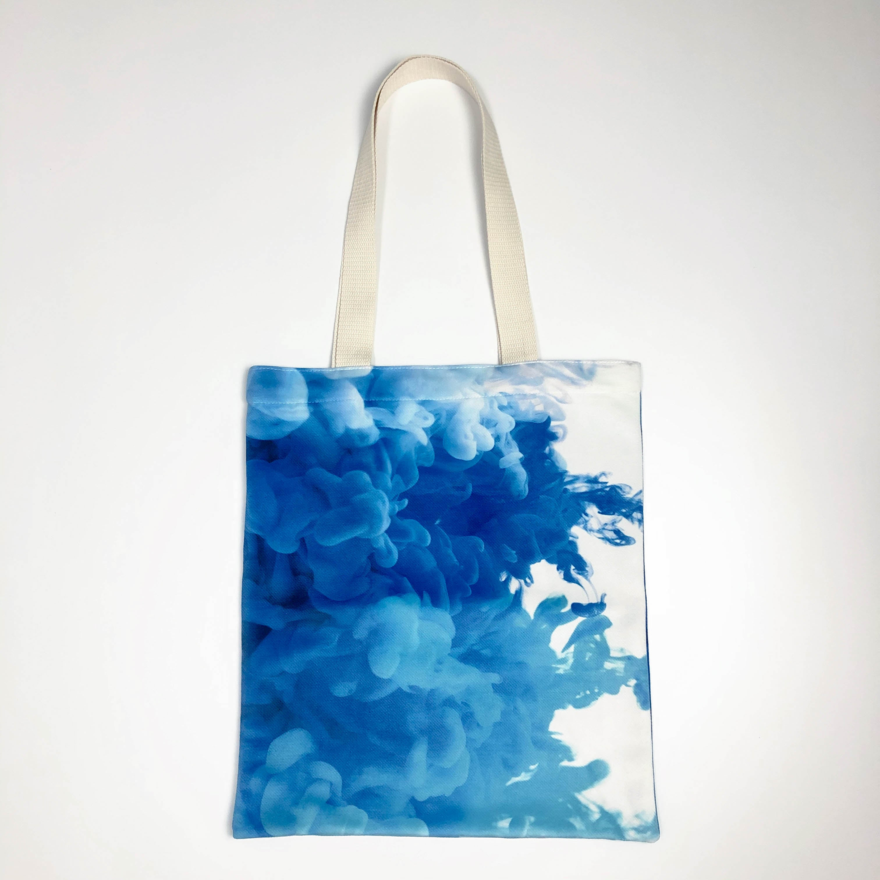 Blue Cloud Canvas Tote Bag