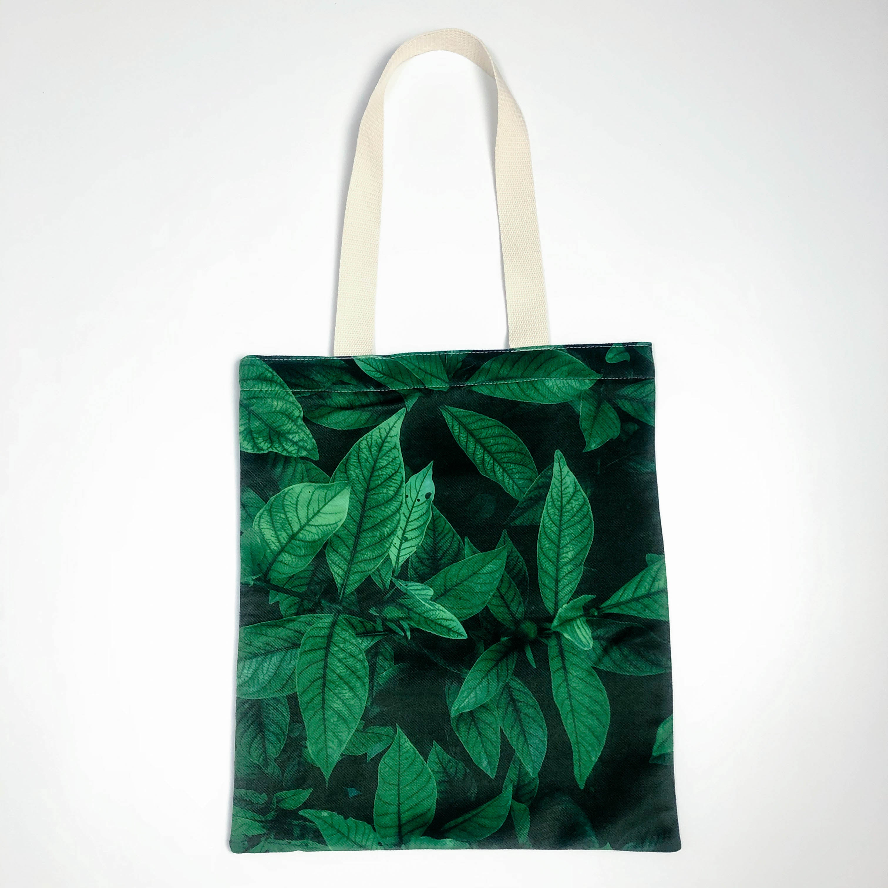 Depth Forest Canvas Tote Bag
