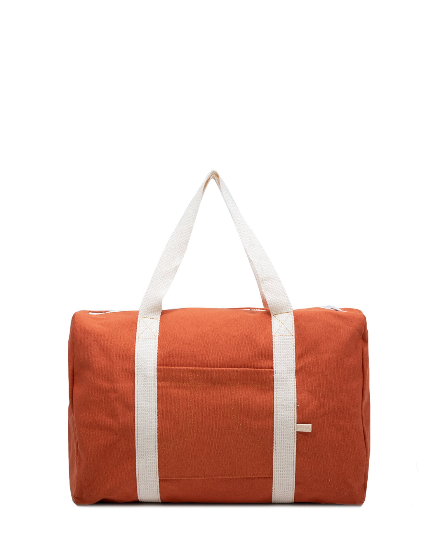 Tangerine Canvas Street Duffel Bag.柑橘系帆布行李袋