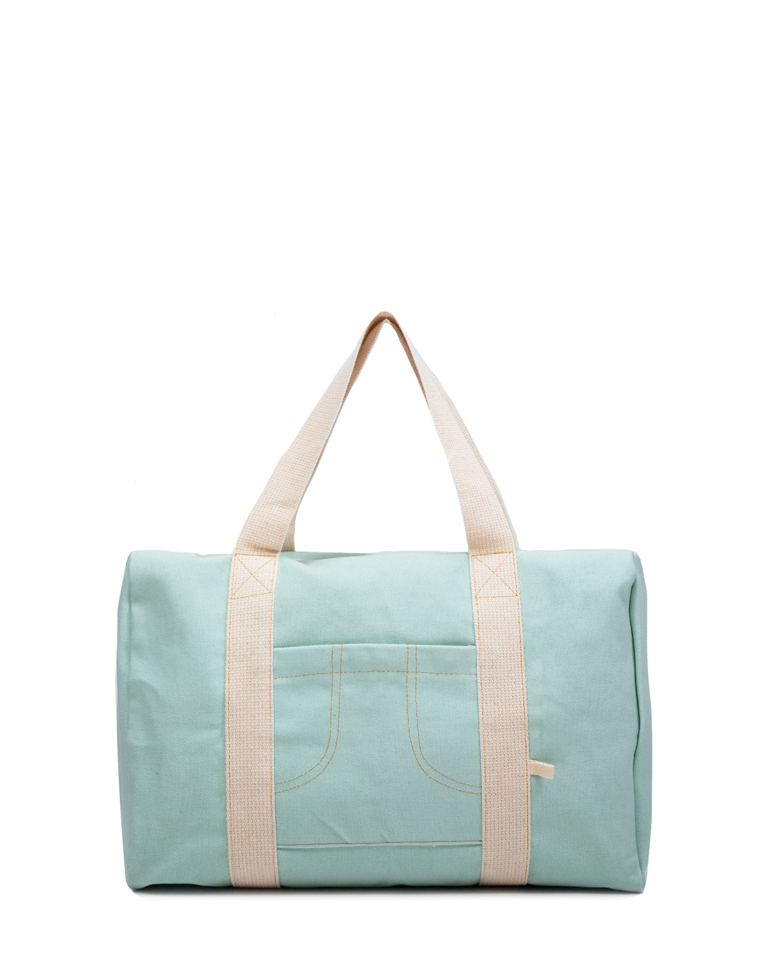 Mint Green Canvas Street Duffel Bag.薄荷綠帆布行李袋