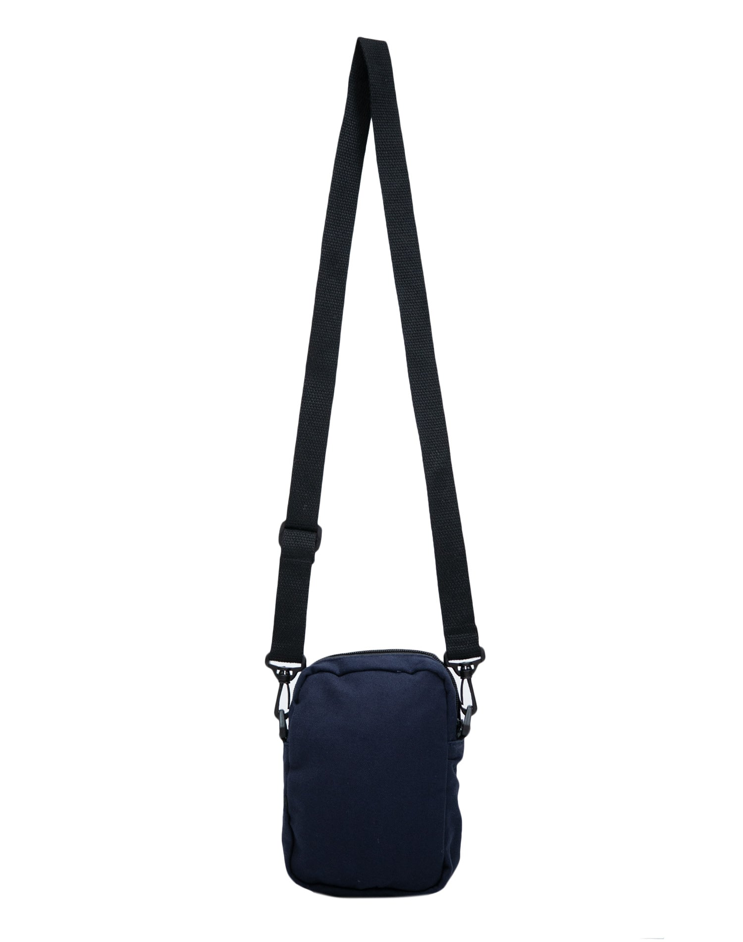 Deep Blue Sunny Canvas Mini Square Shoulder Bag.藍色帆布迷你方形單肩斜挎袋
