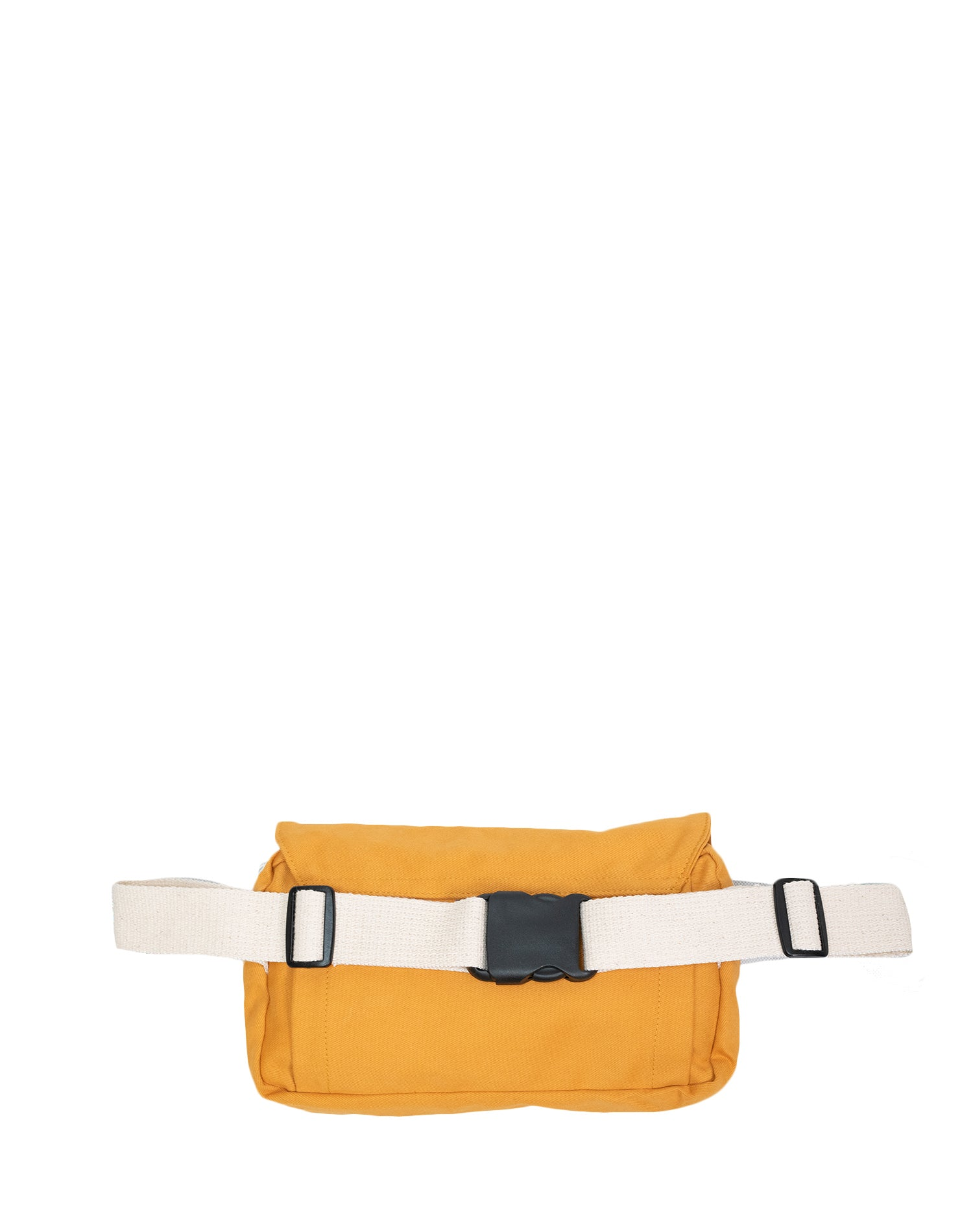 Yellow Mustard Keeply Belt Sling Bag.黃色帆布斜揹腰包