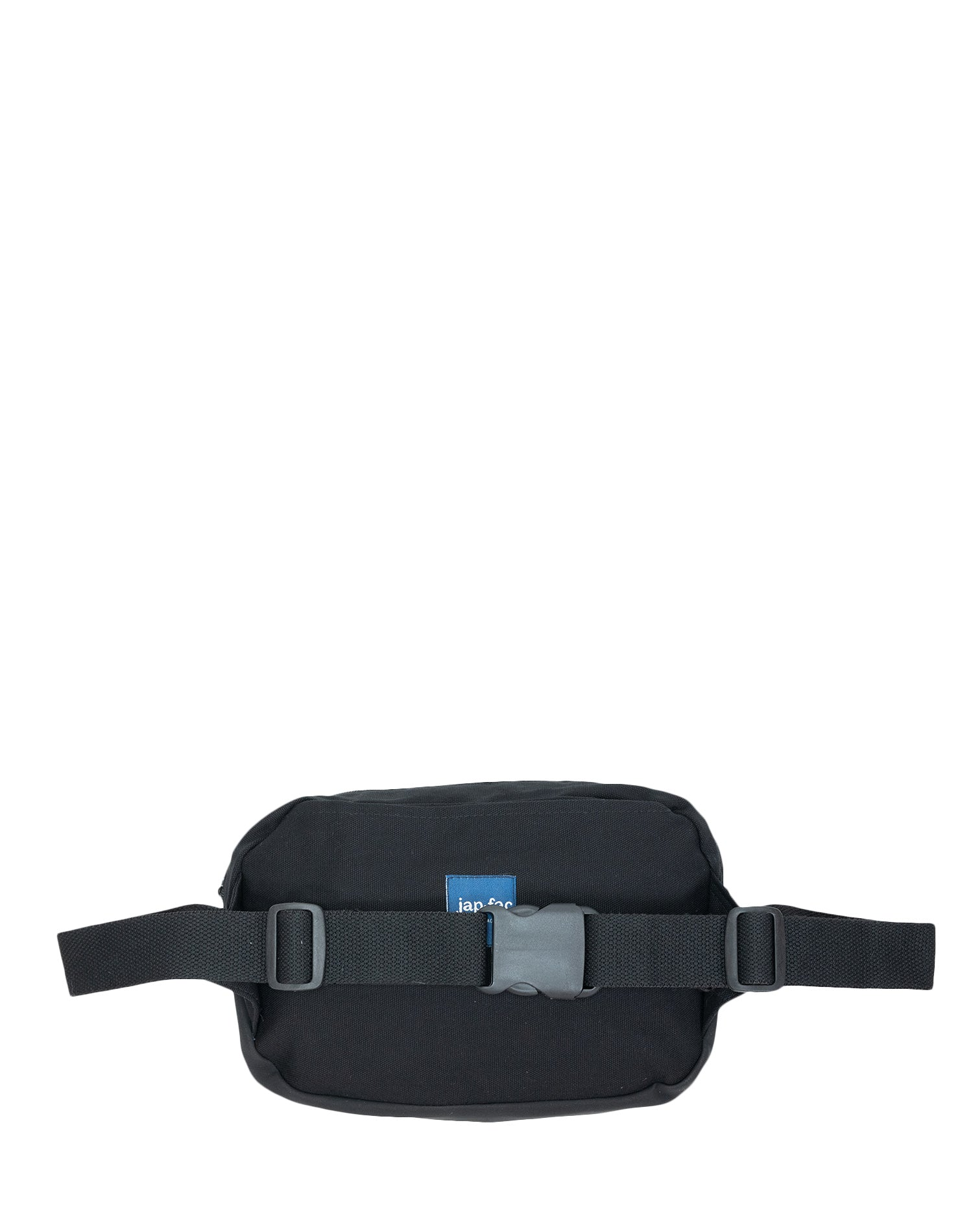 Jet Black Lucky Canvas Belt Sling Bag.黑色帆布斜揹腰包