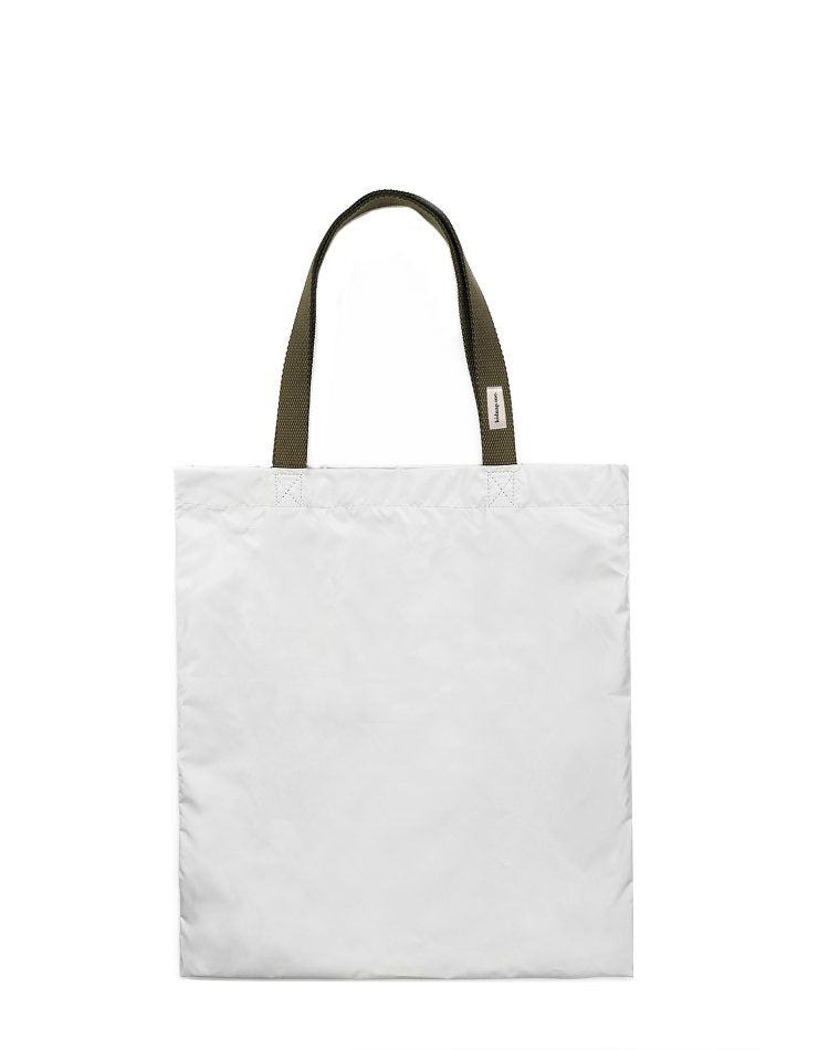 Light Grey Nylon Tote Bag.淺灰色尼龍側背袋