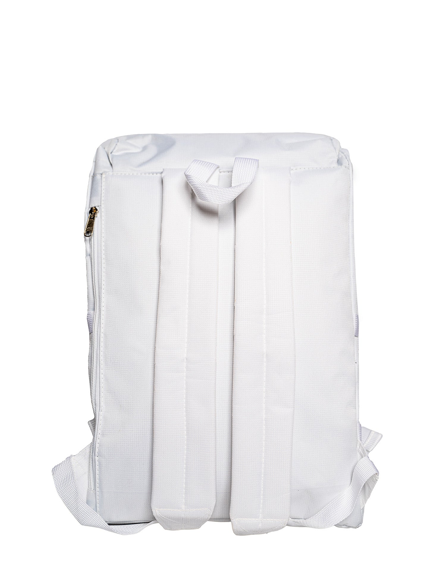 The White Moonset Waterproof Backpack.白色防水背囊