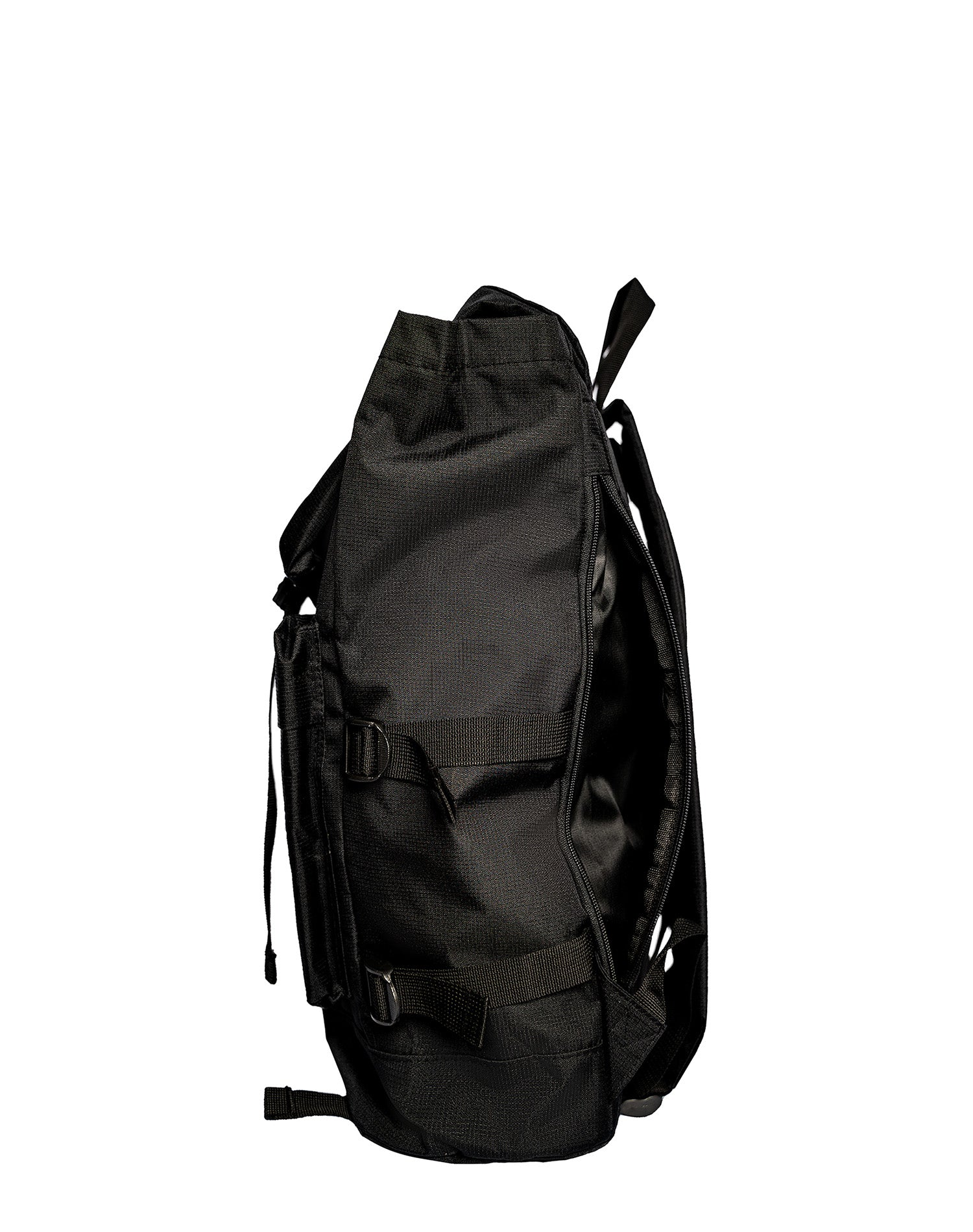 The Black Moonset Waterproof Backpack.黑色防水背囊