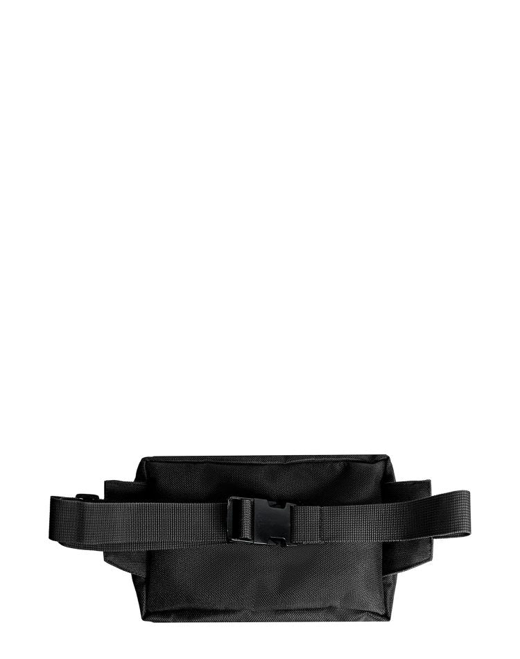 Black Canvas Tool Belt Sling Bag.黑色帆布腰包