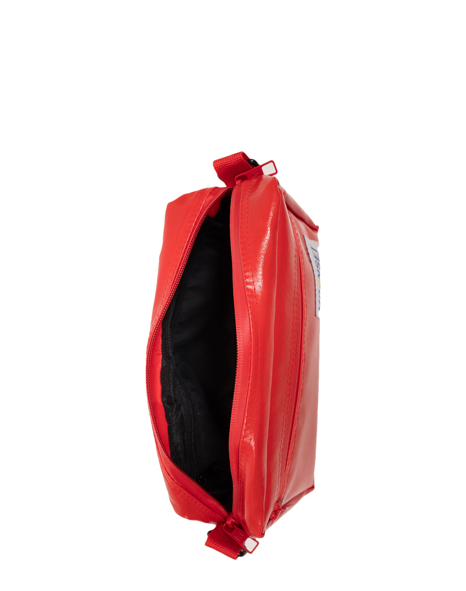 Red Waterproof Shoulder Bag.紅色防水單肩斜挎袋