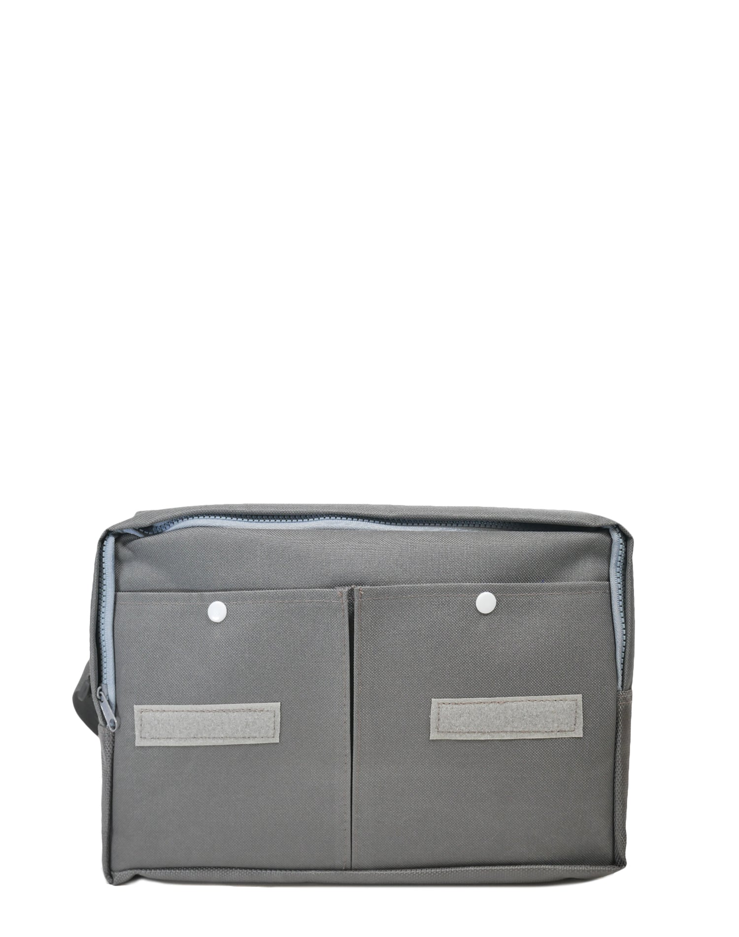 Grey Canvas Shoulder Bag.灰色帆布斜揹袋