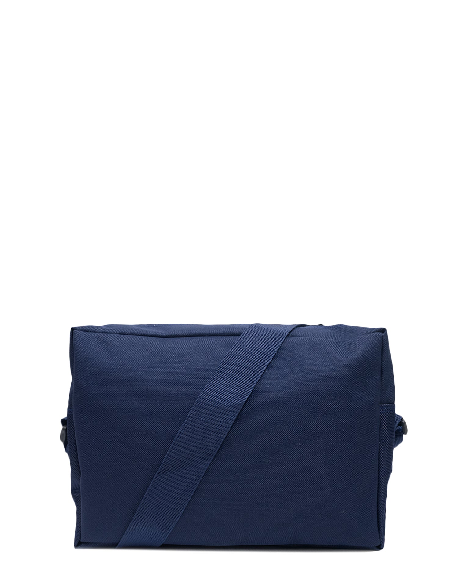 Navy Canvas Shoulder Bag.藏青色帆布斜揹袋