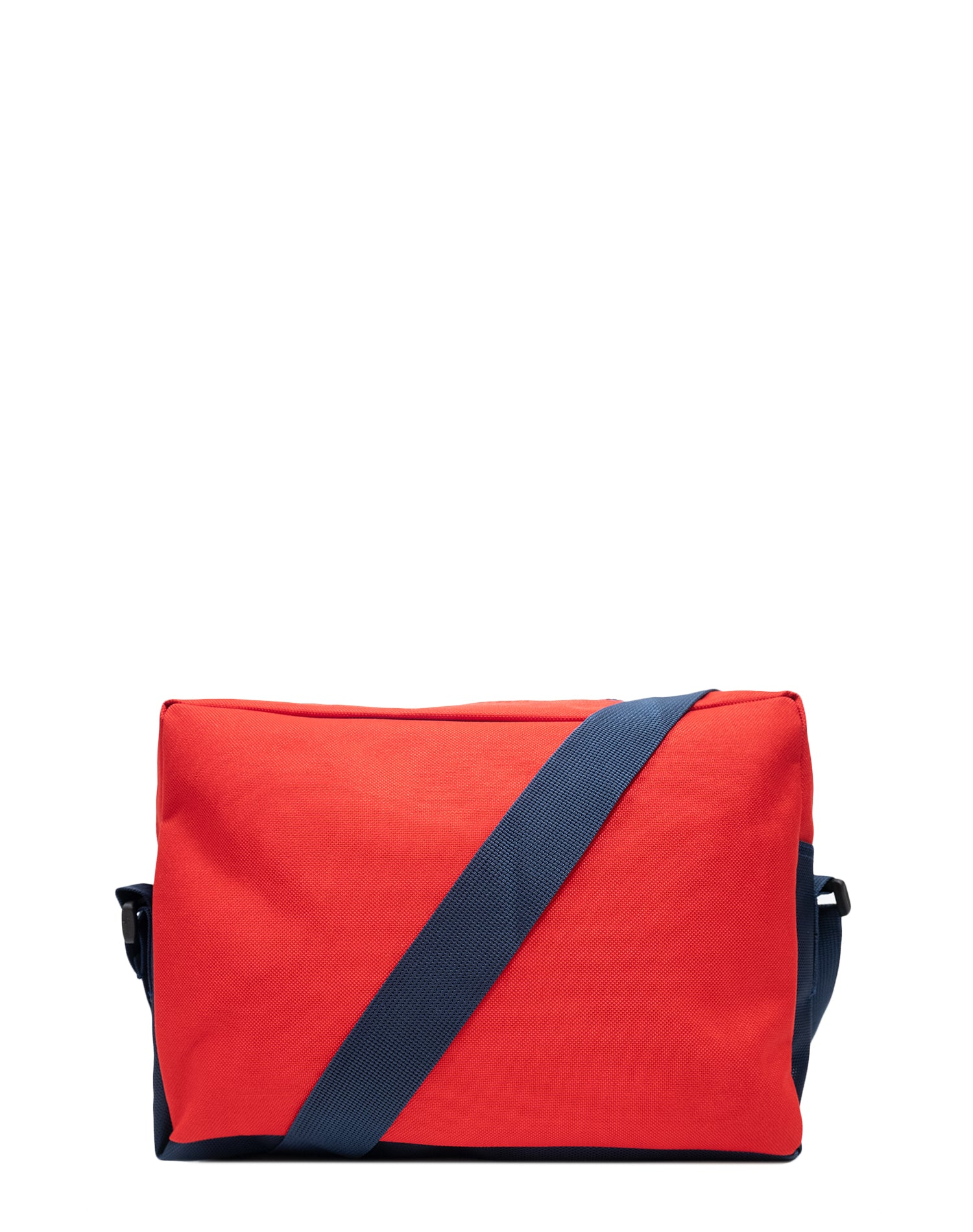 Red Canvas Shoulder Bag.紅色帆布斜揹袋