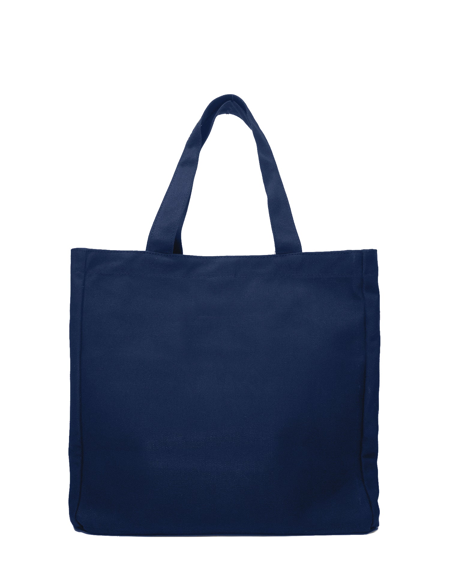 Navy Basic Canvas Tote Bag.藏青色帆布側背袋
