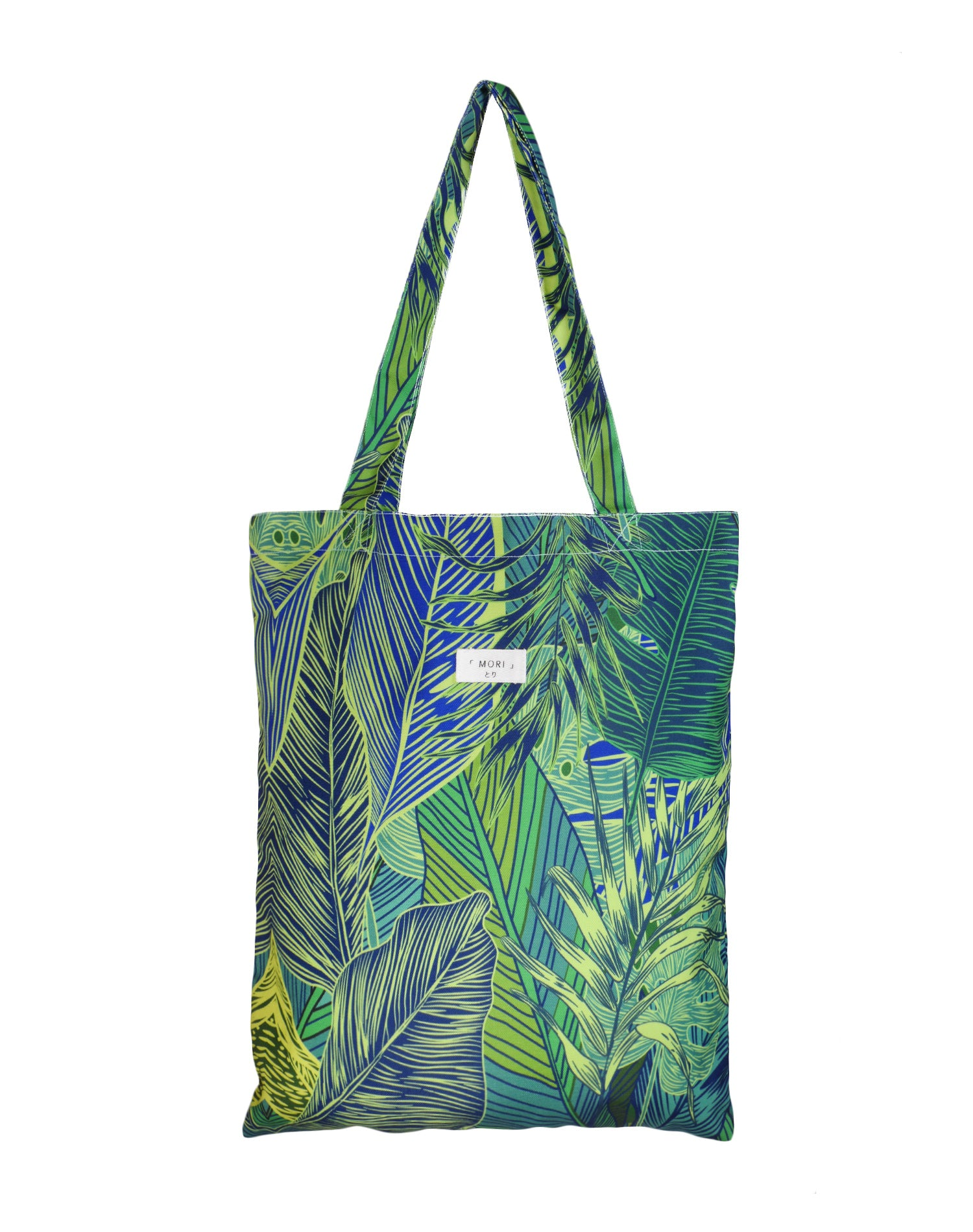 Greenery Summer Canvas Tote Bag.夏日綠蔭帆布側背袋