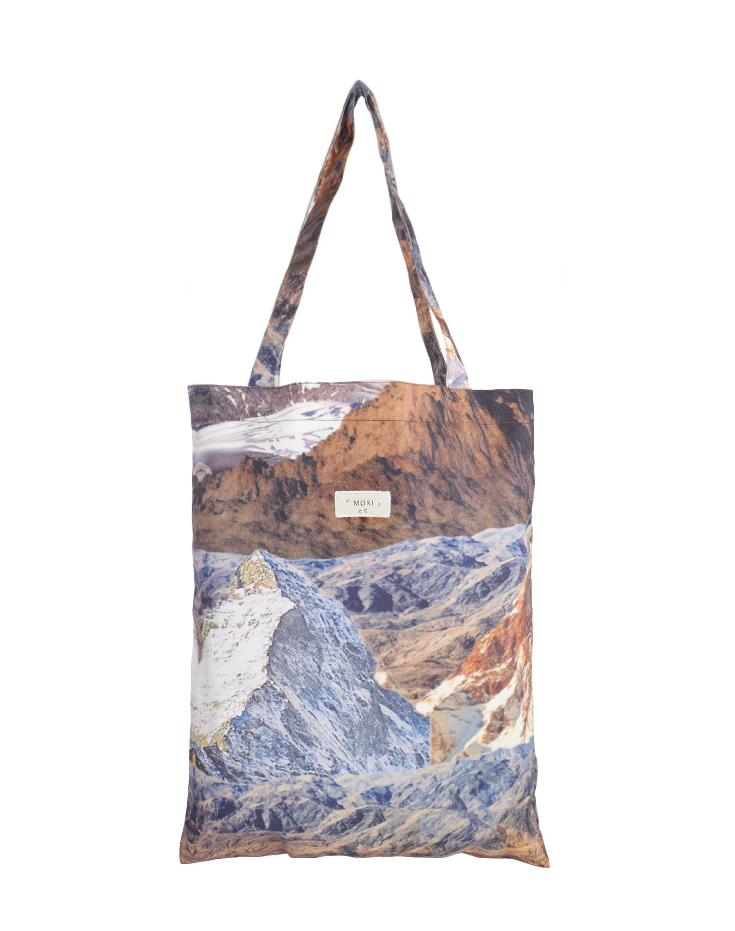 Brown Mountain Canvas Tote Bag.布朗山帆布側背袋