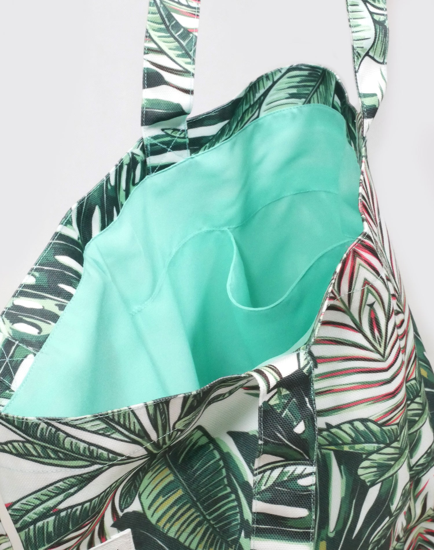 Tropical Escape Canvas Tote Bag.熱帶度假帆布側背袋