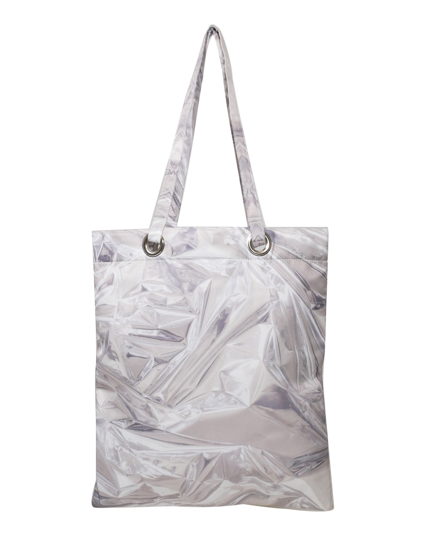 Reflection Premium Tote Bag.反射波纹高級側背袋