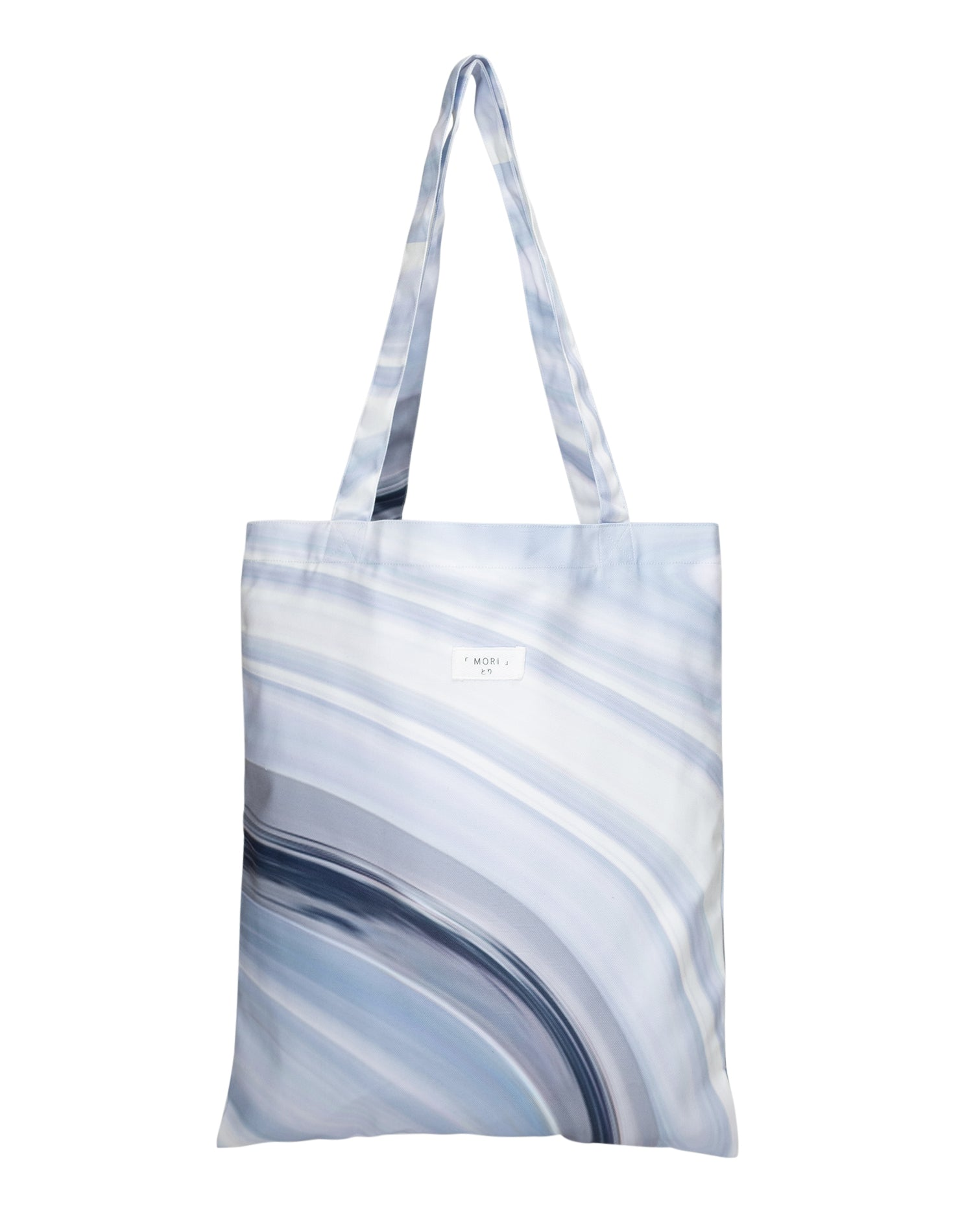 Geode Rays Canvas Tote Bag.晶石紋帆布側背袋