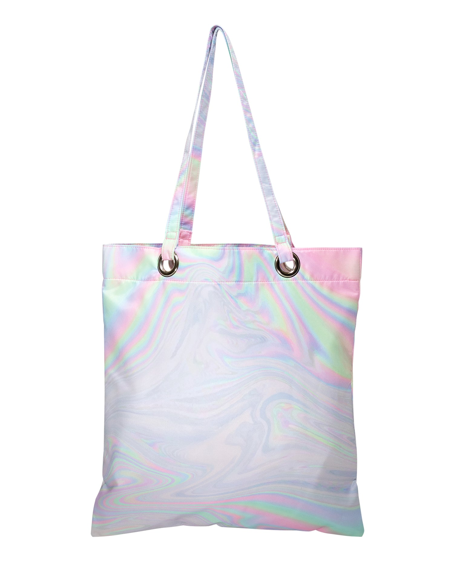 Refraction Fusion Premium Tote Bag.反射波纹高級側背袋