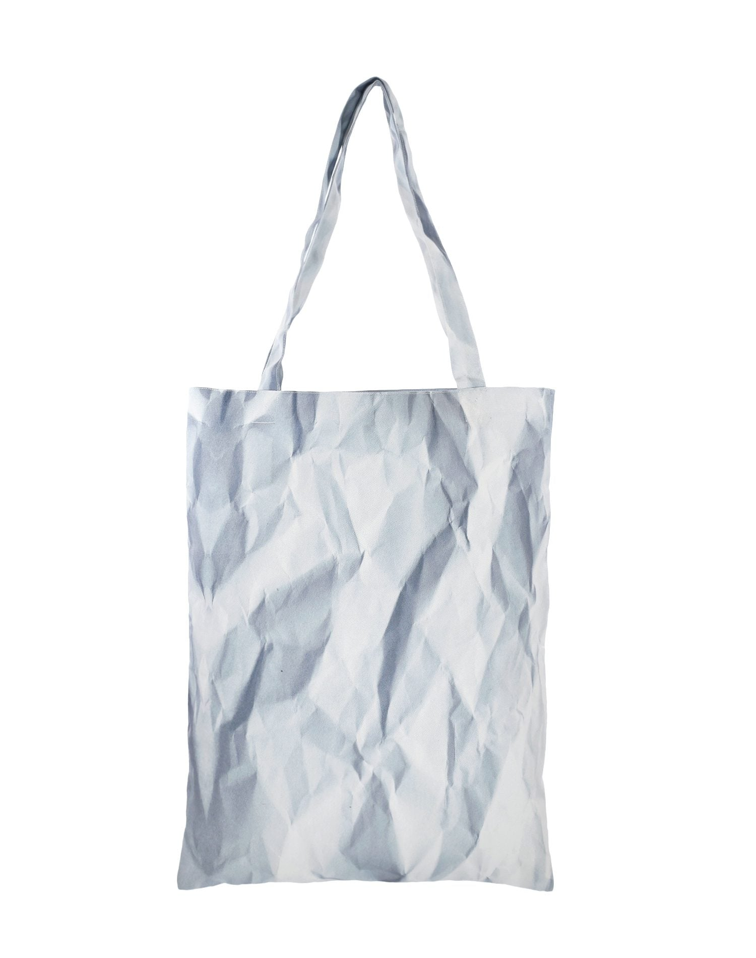 Crumpled Paper Canvas Tote Bag.皺紙帆布側背袋