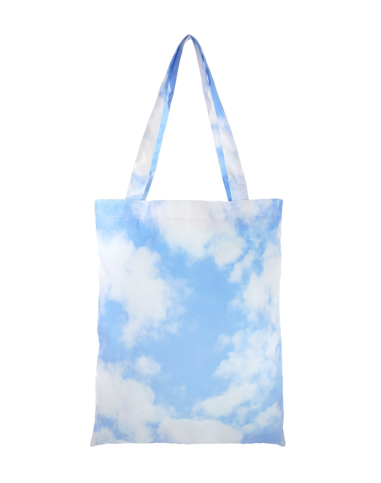 In The Cloud Canvas Tote Bag.藍天白雲帆布側背袋