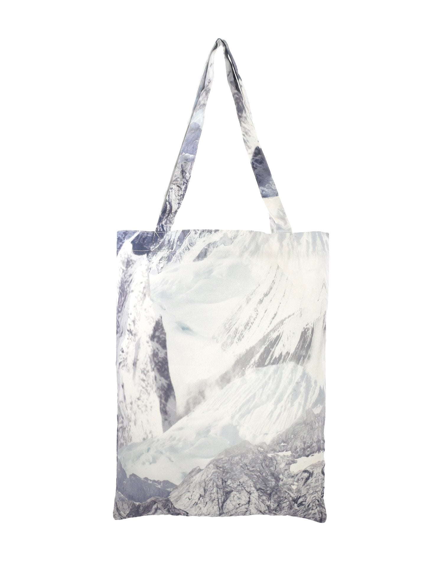 Grey Mountain Canvas Tote Bag.灰山系帆布側背袋
