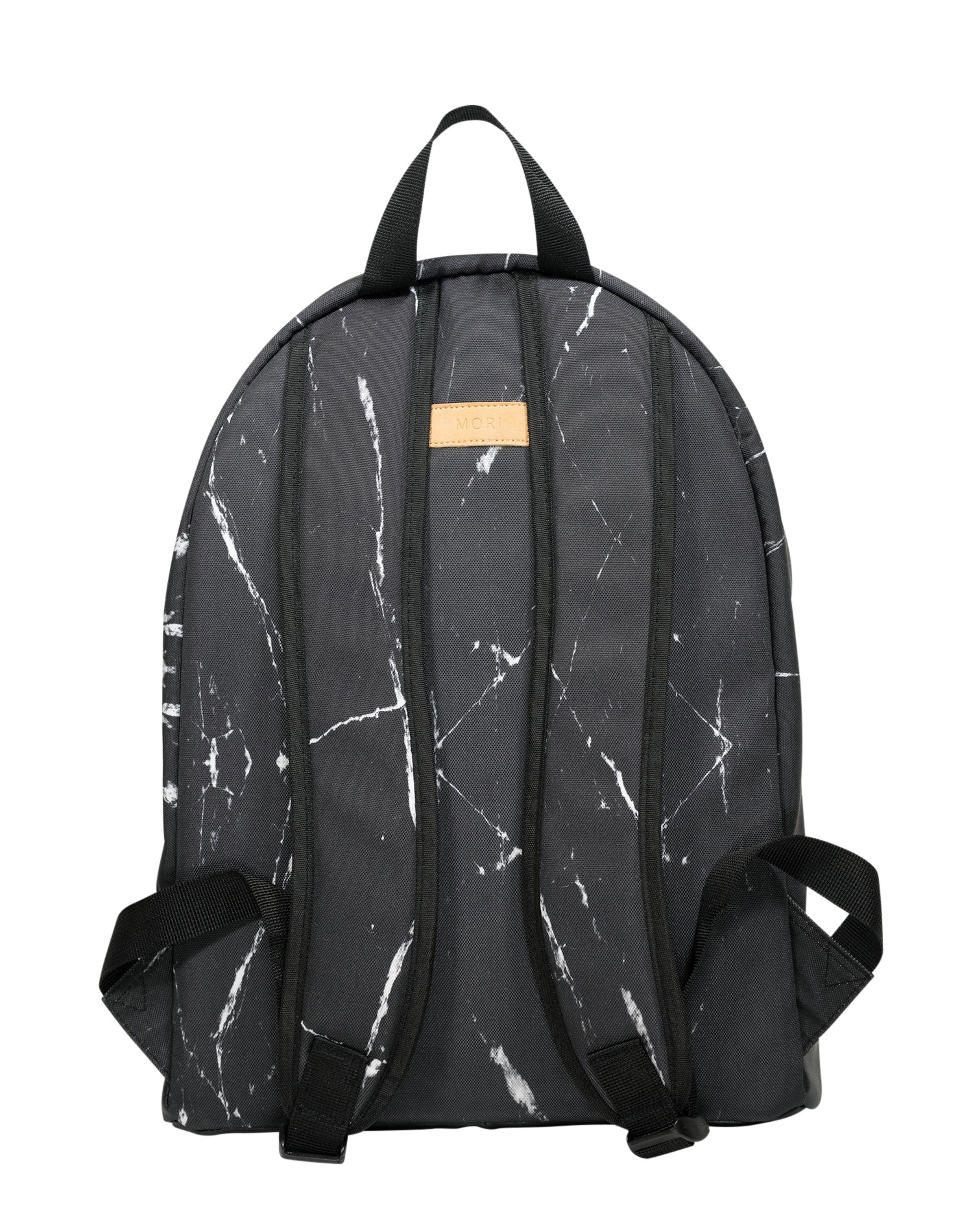 Onyx Marble Cotton Canvas Backpack.條紋大理石棉帆布背囊