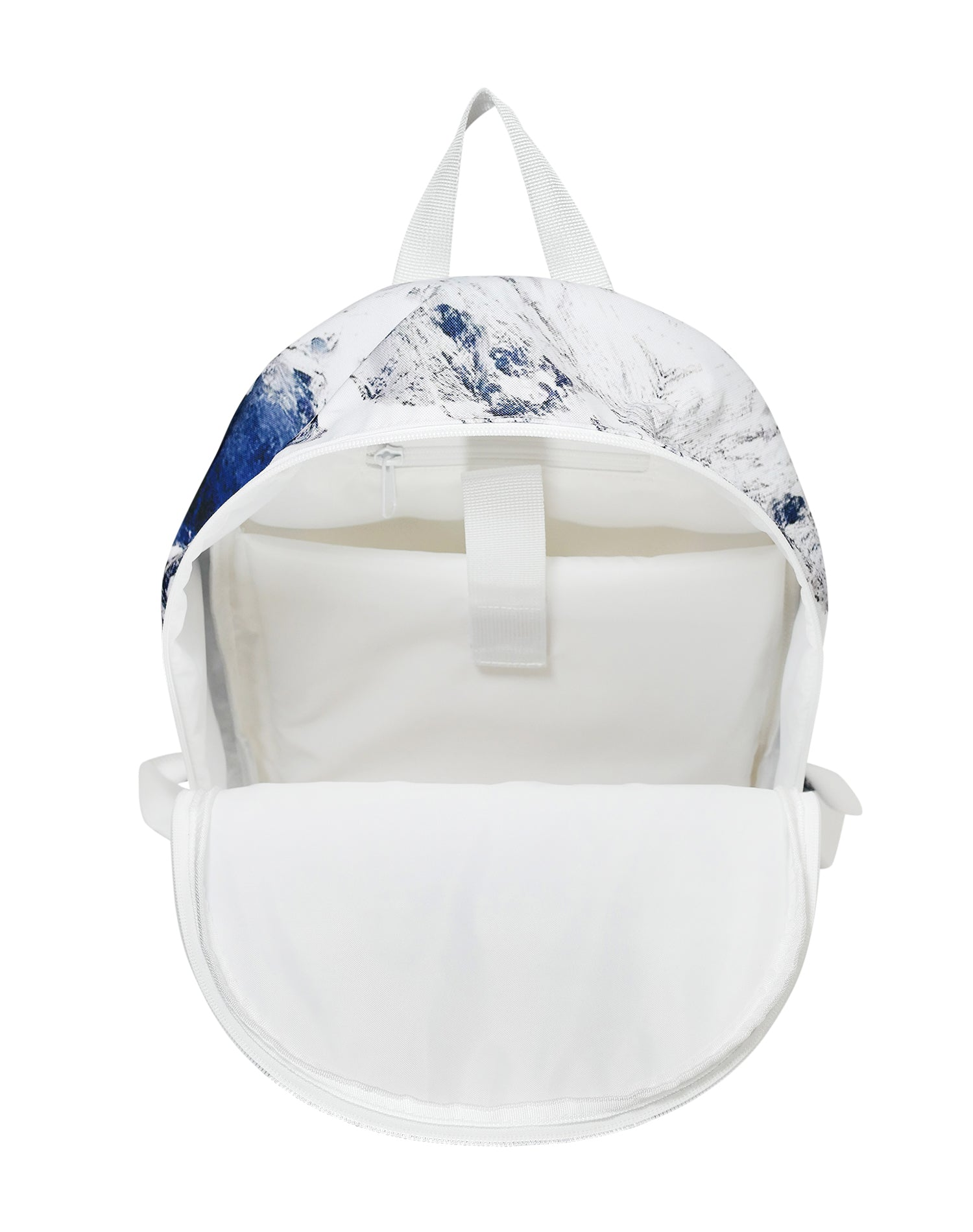 Glacial Rock Cotton Canvas Backpack.冰川岩棉帆布背囊