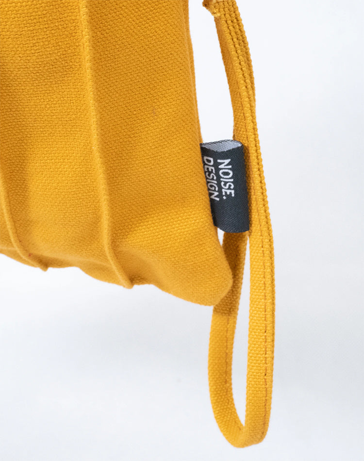 Mustard Canvas Sling Bag.黃色帆布吊帶包