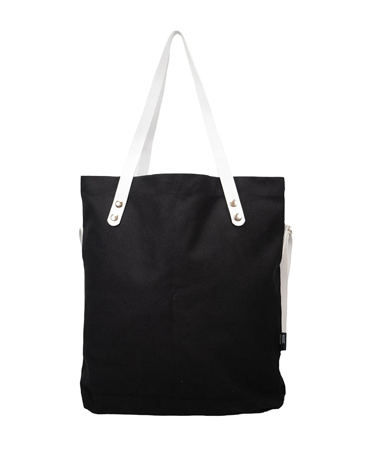 Handmade Black Signature Tote Bag.黑色手提袋