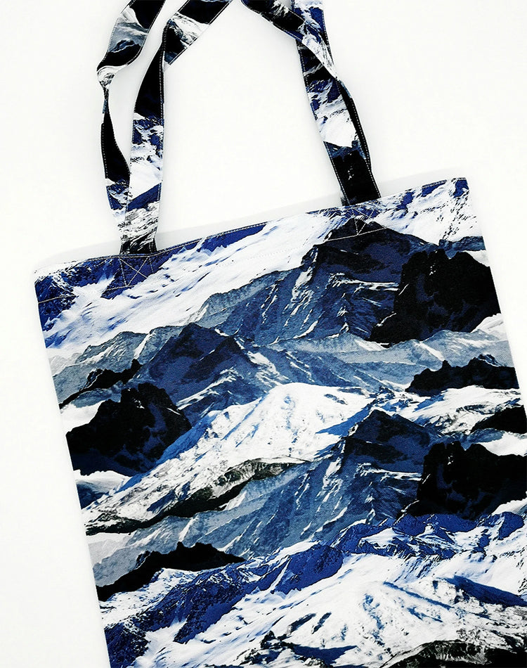 Epic Mountain Canvas Tote Bag.山峰系帆布手提袋