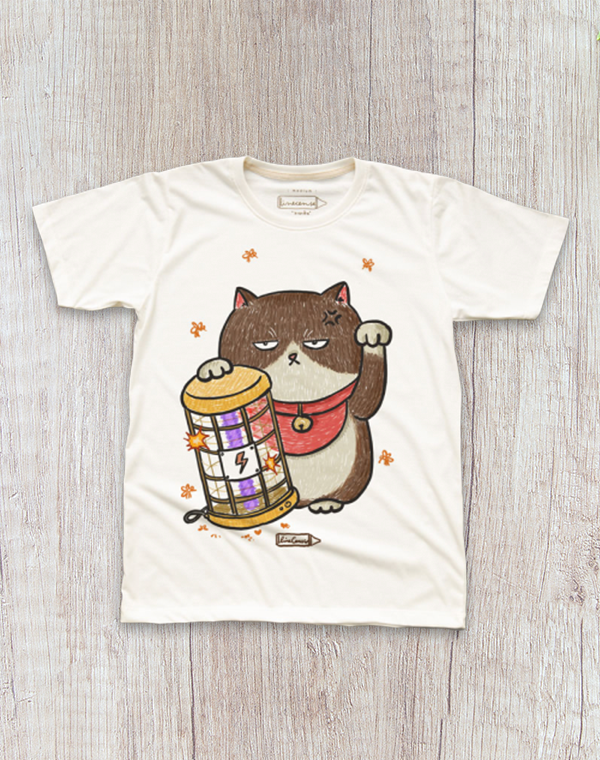 Annoyed Cat T-Shirt.不爽貓短袖T恤