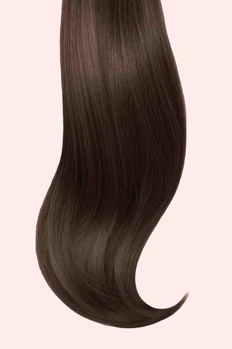 Seamless 120 grams 18 inch Clip-In Extensions #4 - GOSSIP HAIR