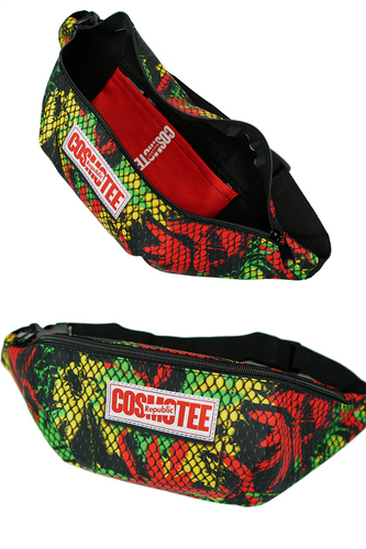 COSMOTEE Rasta Print Fanny Pack
